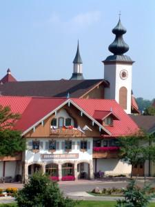 Bavarian Inn Lodge Summer Front Facade 7 C