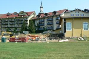 Construction Continues at Bavarian Inn Lodge