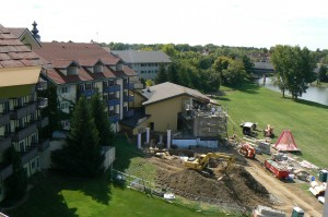 Construction Continues at Bavarian Inn Lodge