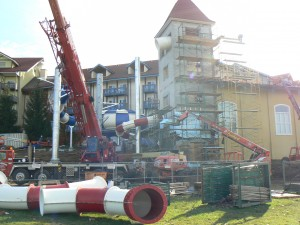 Mid-October Construction Update:  Bavarian Inn Lodge