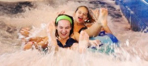 Guests of all ages enjoy new Bavarian Inn Lodge waterslides.
