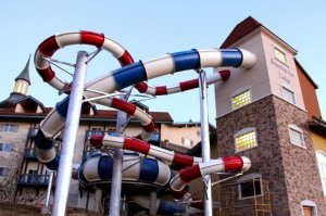 Lodge's New Waterslides