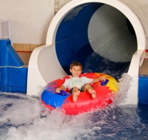 Bavarian Inn Lodge opens two new waterslides.